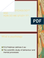 What is Psychology (One)A