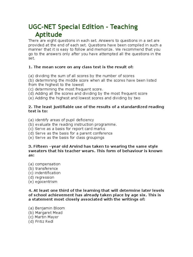 f764db39 Paper 1 Study Material | Experiment | Thesis