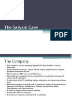 The Satyam Case