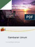 Tugas Laporan Kinerja PDAM Cirebon