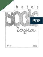 Debates en Sociología Nº 29