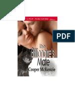 Cooper McKenzie - The Billionaire's Mate