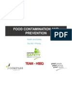 Food Contamination & Prevention