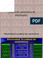 Cadena de Suministros de McDonald's