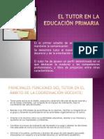 El Tutor en la Educación Primaria pp