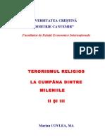 TERORISMUL RELIGIOS