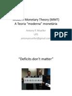 Modern Monetary Theory MMT