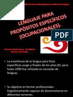 PROPOSITOS ESPECIFICOS Y ACADÉMICOS