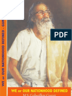We or Our Nationhood Defined - Shri M.S. Golwalkar Guruji(1)