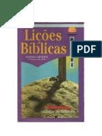 Lições Bíblicas 2º Trimestre de 1995