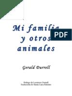 Durrell Gerald - Mi Familia Y Otros Animales
