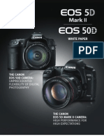 Canon EOS 50D and 5D mark II White Paper