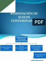 RESTAURACIÒN DE SUELOS CONTAMINADOS