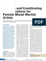 Female Mma Training Article