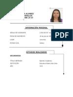 Isabel Cristina Alvarez