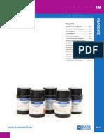 HANNA General Catalog v28 Chapter18 Reagents