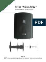 DeskTop NoiseAway Manual ISSB