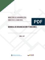 Manual de Organización y Funciones UCAR