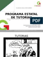 Programa Estatal de Tutorias Presentacion[1]