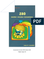 Z80 Assembly Language Programming
