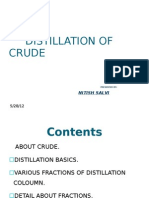 Distillation of Crude