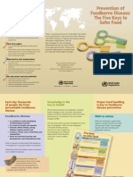 Prevention of Foodborne Disease