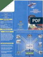 FoSIM Brochure