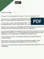 JY 15 Owners Manual