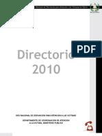 Directorio Red Nacional de Derivacion Para Atencion a Las Victimas