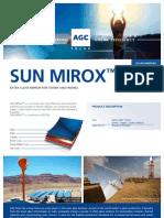 Sun Mirox™ Flat technical sheet low resolution _AGC_SunMiroxFlat-LR