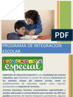 programa integracion liceo