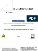 Checkpoint NGX CLI