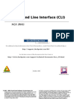 Checkpoint NGX CLI Guide
