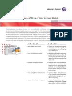 OA Wireless Voice Services Datasheet 031936-B en Jul07