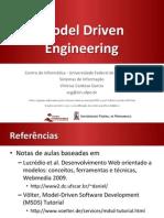 Model Driven Engineering