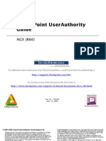 Checkpoint NGX User Authority