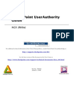 Checkpoint NGX User Authority User Guide