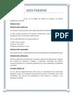 Datos de Todos Los Departamentos de Guatemala
