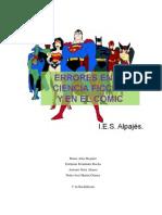 Errores en La Ciencia Ficcion y El Comic