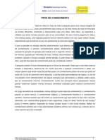 of.tipos Conhecimento[1]