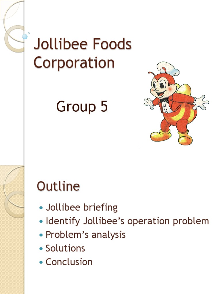 jollibee food corporation problems and solutions