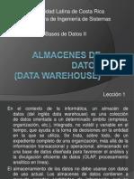 Almacenes de Datos - Leccion I
