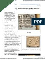 El Edén mormón y el vaso sumerio warka _ Estudio SUD