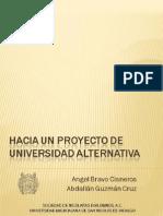 Angel Bravo Cisneros-Hacia Un Proyecto de Universidad Alternativa (Libro)