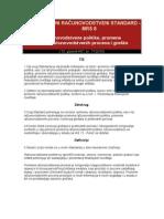 MRS 8 - Racunovodstvene Politike, Promene Racunovodstvenih Procena i Greske