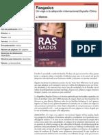 Rasgados. Un viaje a la adopción internacional España-China (noviembre 2010)