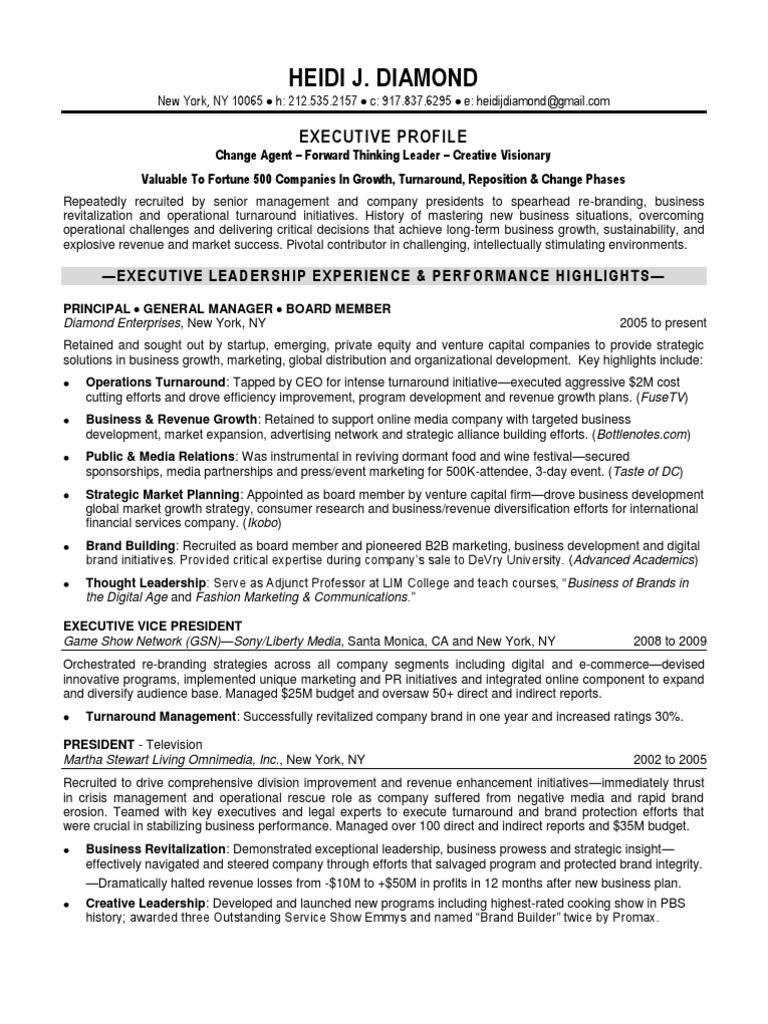 Nett Executive Lebenslauf Service Nyc Galerie - Entry Level Resume ...