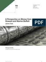 Howard Buffett - A Perspective on Money
