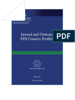 Inward n Outward Fdi Country Profiles