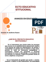 Proyecto Educativo Institucional - Copia